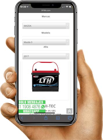 Cotiza tu Batería LTH en Línea